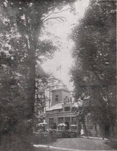 Ресторан Лидо в 1930-х годах