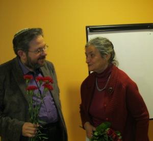 На встрече в Рижской еврейской общине