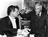 Leonard Bernstein and Boris Pasternak foto http://encyclopaedia.biga.ru/