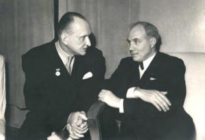 Иван Козловский и Александр Вертинский foto http://www.kino-teatr.ru/