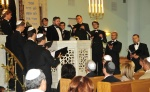 40.with Balsis ensemble-the opening ceremony of Riga synagogue afterrenovation