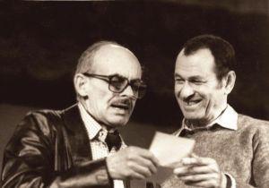 Владимир Мотыль и Булат Окуджава foto http://gregorio.bestpersons.ru/