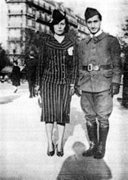 Ариадна Скрябина и Довид Кнут foto http://www.lechaim.ru/