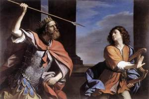 Saul Attacking David by GUERCINO foto http://www.museumsyndicate.com/