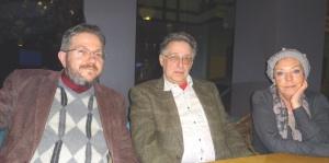 Илана Махлис (Александрович) и Леонид Махлис в Риге