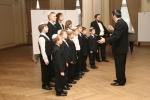 V.Shulman sings with choir, conductsJ.Tsisser