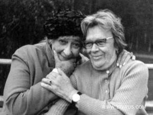 Фаина Раневская и Татьяна Пельтцер foto http://www.socionics.org/