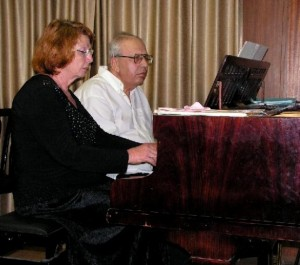 Михаил Бурштин и Фаина Хармац фото Александр Баршай