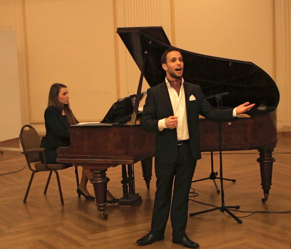 Концерт молодого израильского тенора в Риге