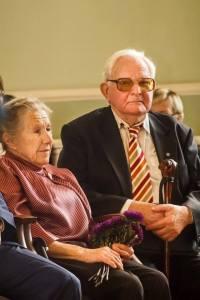 Marģers Vestermanis ar kundzi