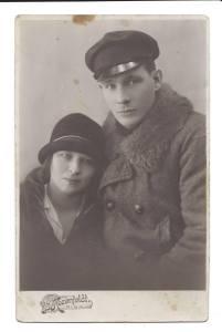Жанис Липке и его жена Иоганна