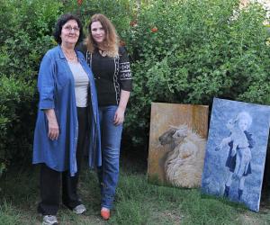 Сильва Залмансон с дочерью Анат http://www.jerusalem-algorithm.com/