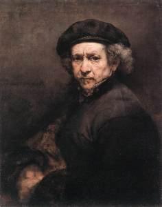 Автопортрет Рембрандта, 1659. foto www.rembr.ru