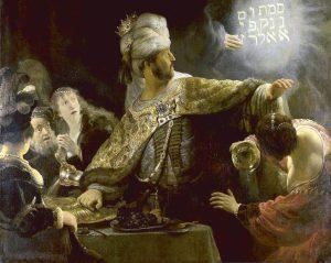 Рембрандт ван Рейн. Пир Валтасара. 1635 foto http://www.lechaim.ru/8860