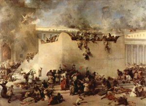 """Франческо Хайес. """"Разрушение Иерусалимского Храма"""". foto http://www.isrageo.com/"""