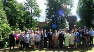 Во время ежегодной церемонии памяти жертв Холокоста в Прейли, август 2016г.