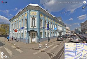 Отреставрированный дом на Сретенке, в котором жил Н.Рубинштейн  foto http://www.classicalmusicnews.ru/