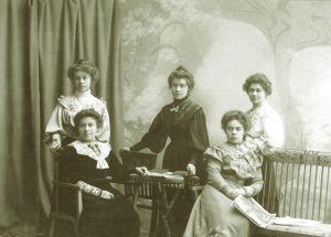 Сестры Гнесины: Ольга, Елена, Евгения, Мария, Елизавета foto www.regnum.ru