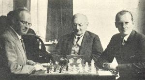 Партия Алехин-Нимцович. Матч так и не состоялся. foto www.chess-news.ru