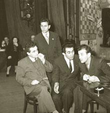 М.Тайманов, М.Таль, Т.Петросян и В.Корчной foto www.sovsekretno.ru