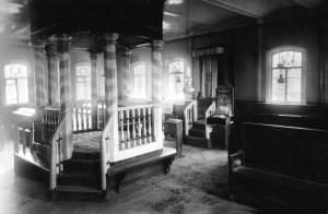 Интерьер синагоги в Прейли прошлого века foto http://sfira.ru/