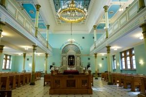 О синагогах Латвии - на латвийском радио